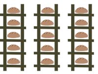 Embolado en la panaderia